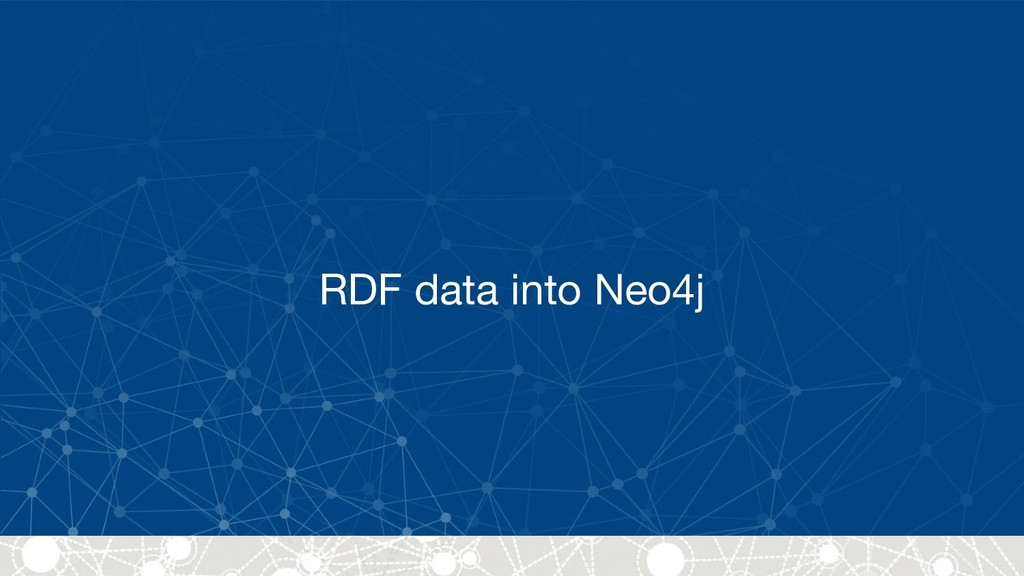 RDF data into Neo4j