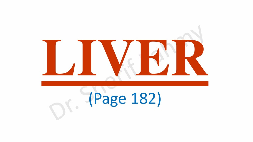 LIVER (Page 182)