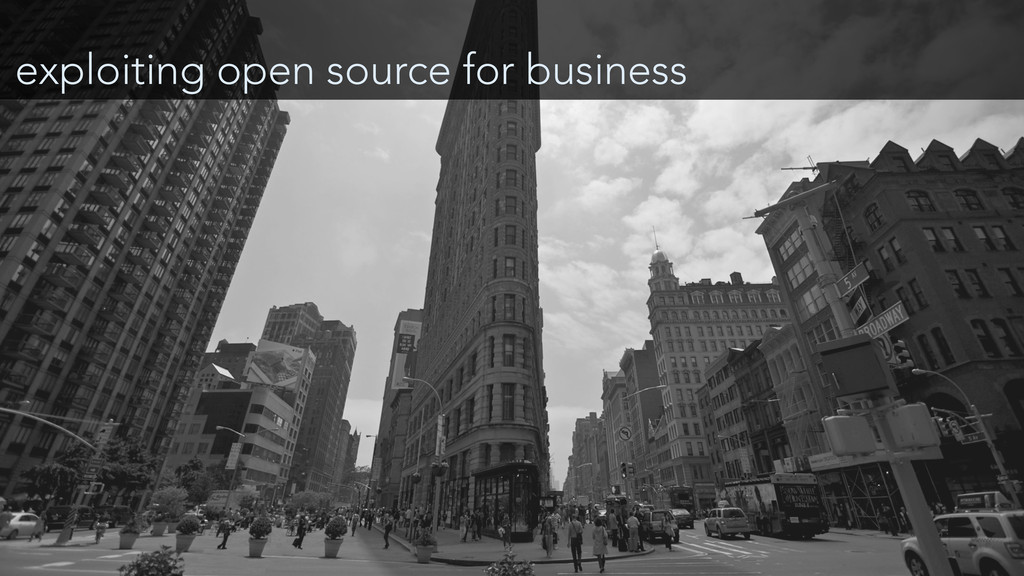 exploiting open source for business