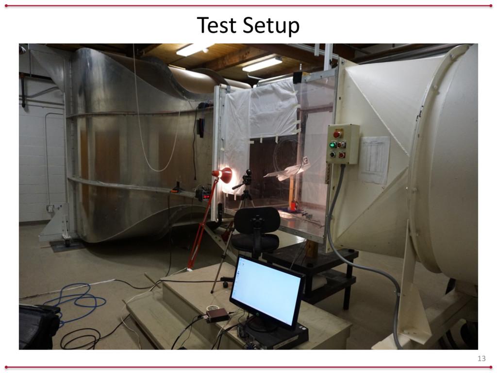 Test Setup 13