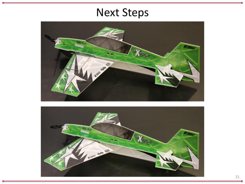 Next Steps 21