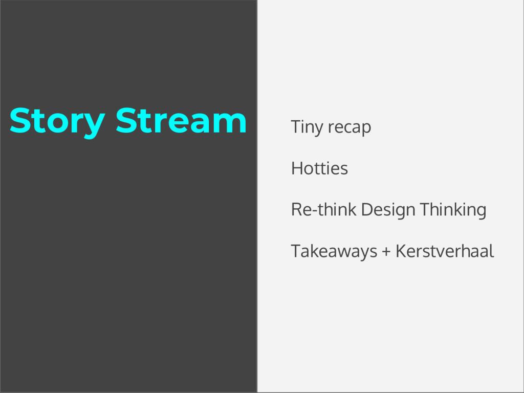 Story Stream Tiny recap Hotties Re-think Design...