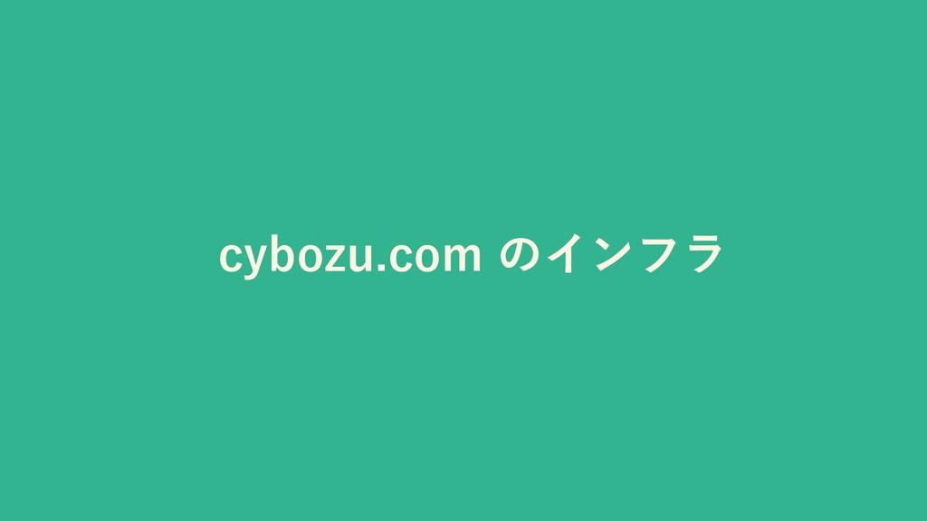 cybozu.com のインフラ