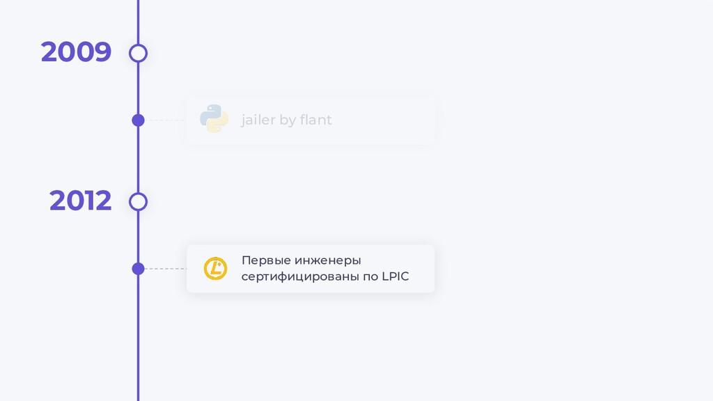 jailer by flant 2009 2012 Первые инженеры сертиф...
