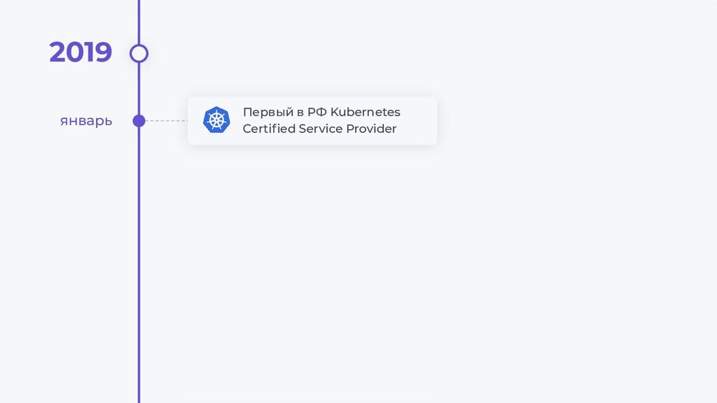 2019 Первый в РФ Kubernetes Certified Service Pr...