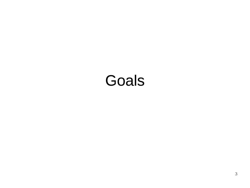 3 Goals