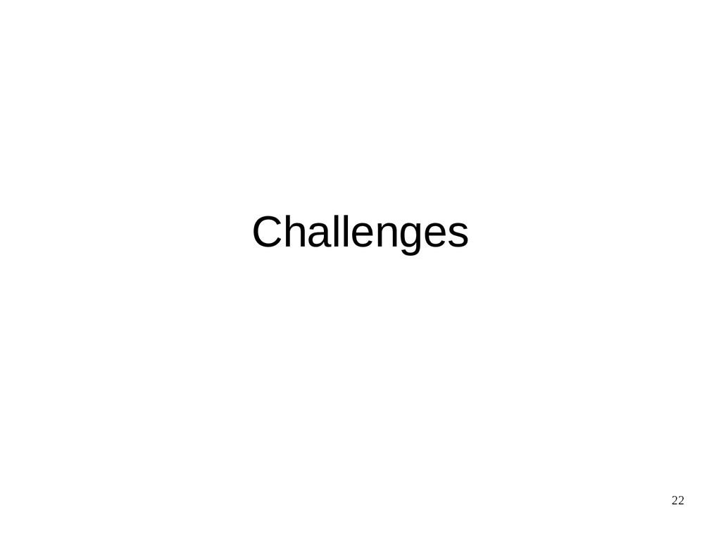 22 Challenges