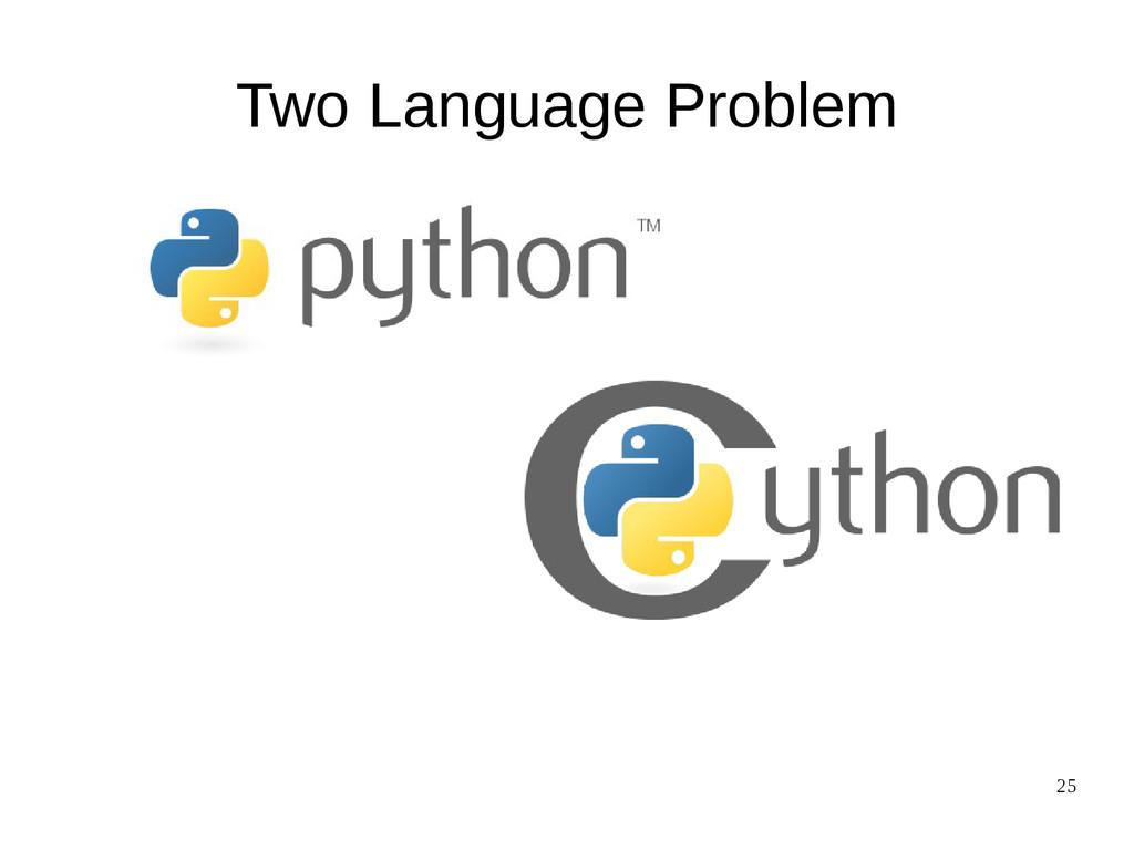 25 Two Language Problem