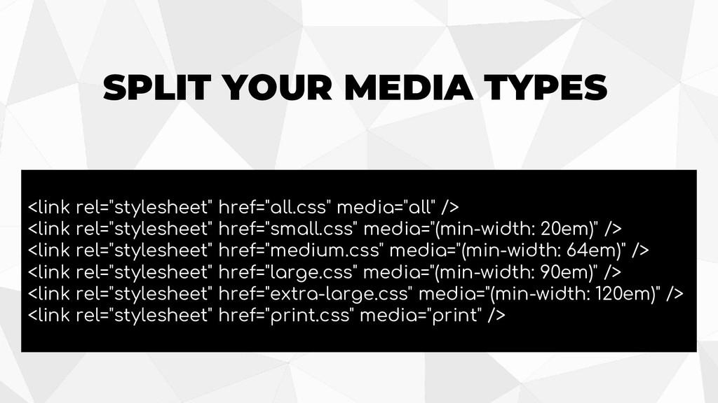 """<link rel=""""stylesheet"""" href=""""all.css"""" media=""""al..."""