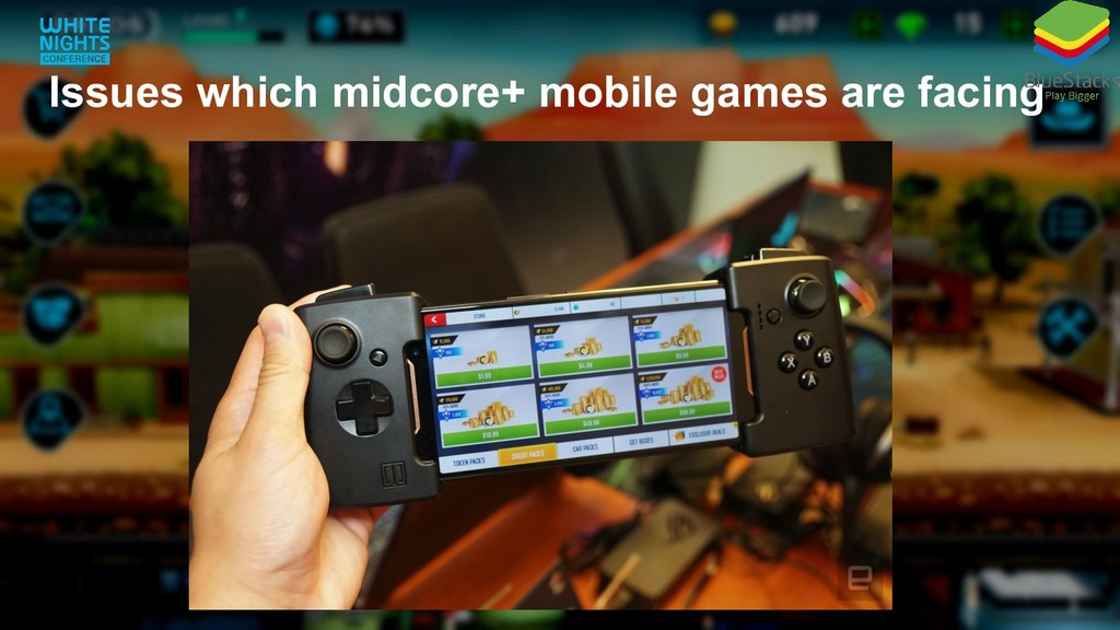 Issues which midcore+ mobile games are facing