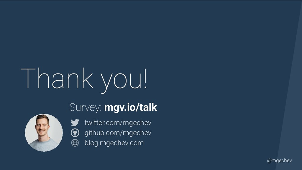 @mgechev Thank you! twitter.com/mgechev  githu...