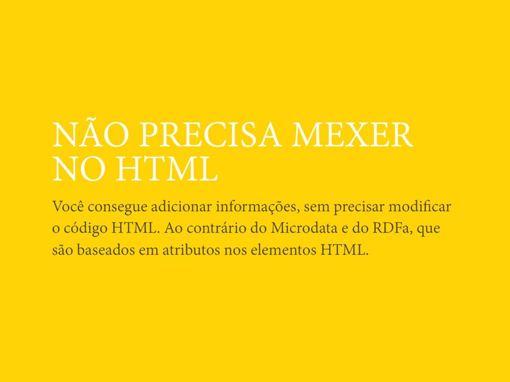 NÃO PRECISA MEXER NO HTML Você consegue adicion...
