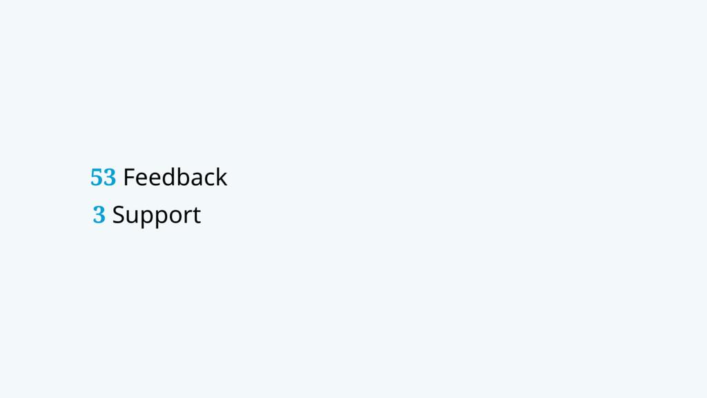 53 Feedback 3 Support