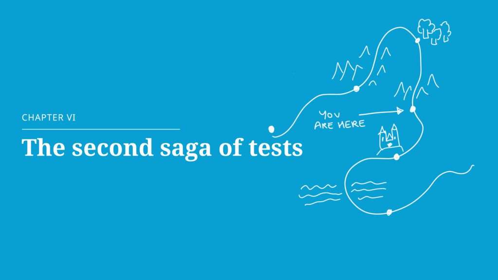 CHAPTER VI The second saga of tests