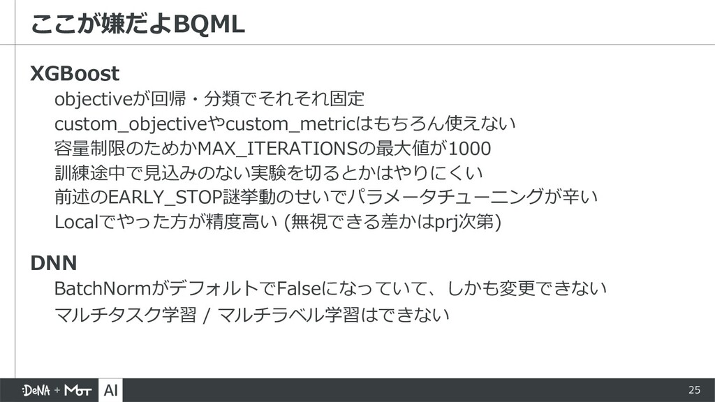 25 XGBoost objectiveが回帰・分類でそれそれ固定 custom_object...
