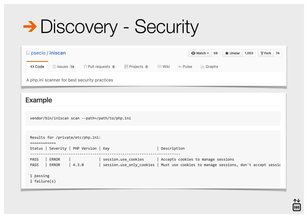 Discovery - Security