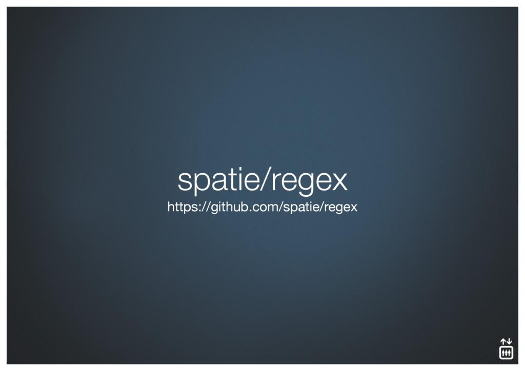 spatie/regex https://github.com/spatie/regex