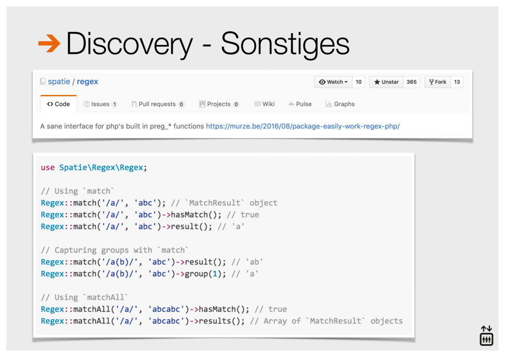 Discovery - Sonstiges