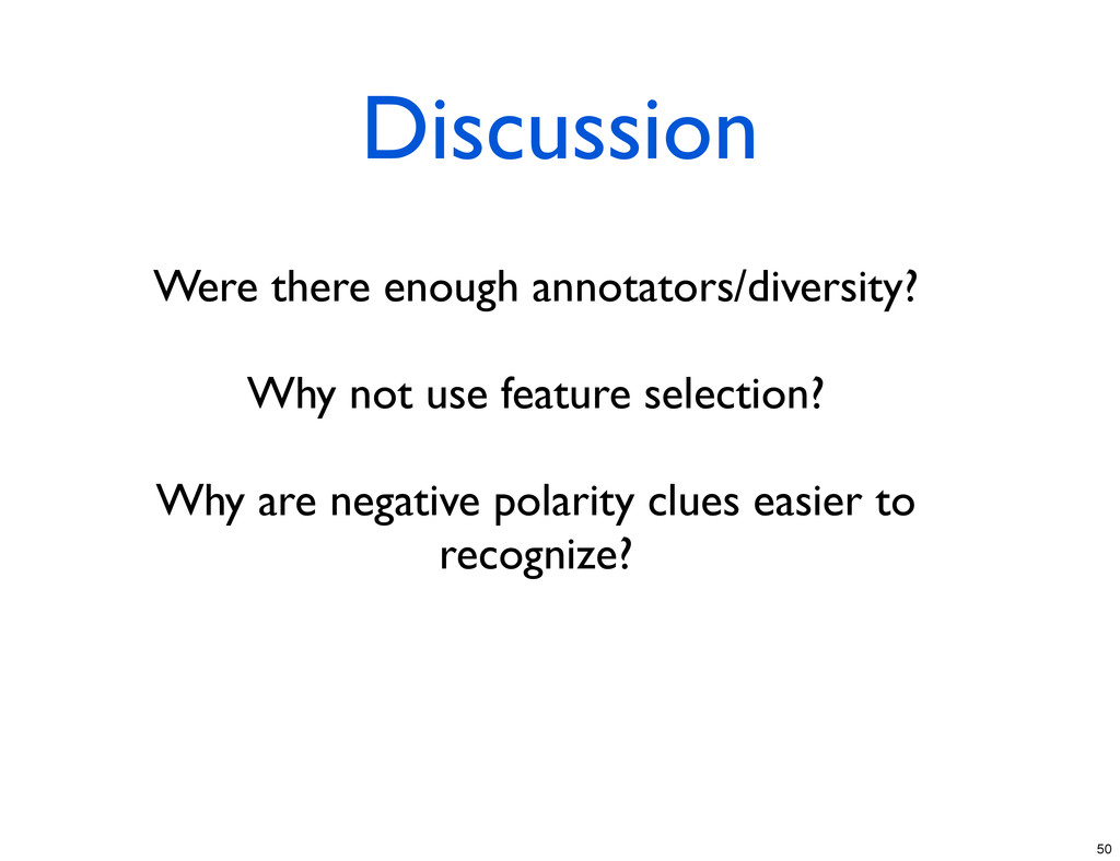 Discussion Were there enough annotators/diversi...