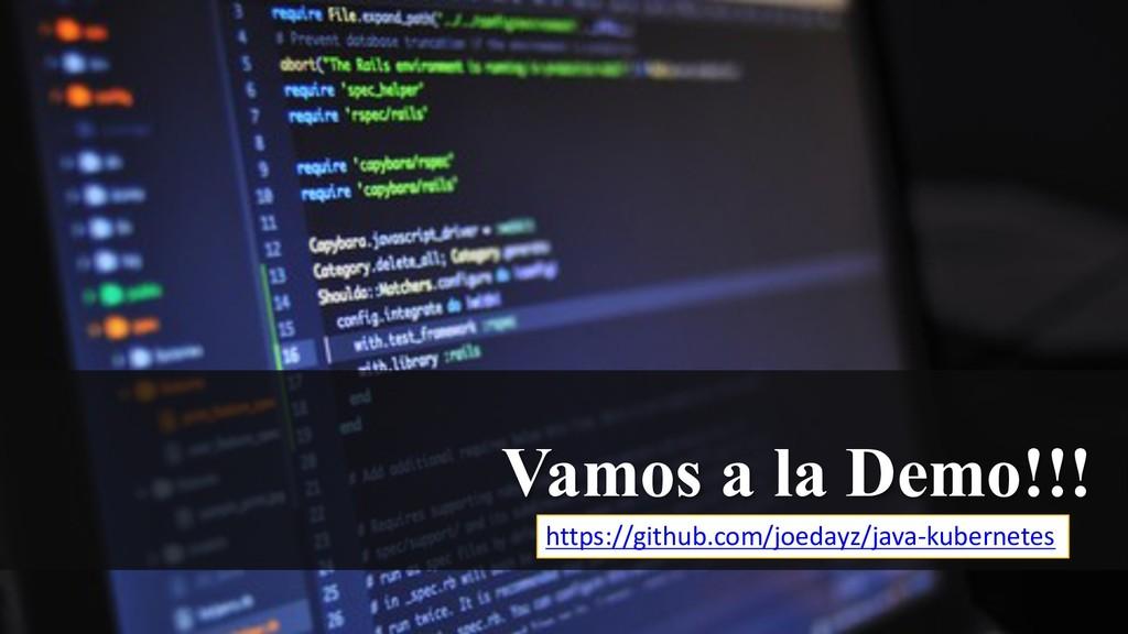 Vamos a la Demo!!! https://github.com/joedayz/j...