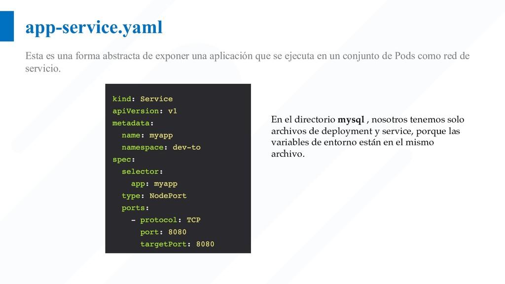 app-service.yaml Esta es una forma abstracta de...