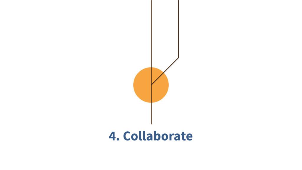 4. Collaborate