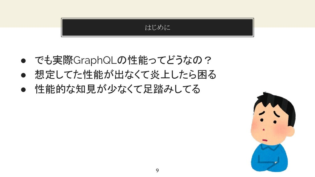 You can also split your content はじめに 9 ● でも実際Gr...