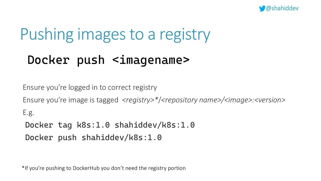 @shahiddev Pushing images to a registry Docker ...