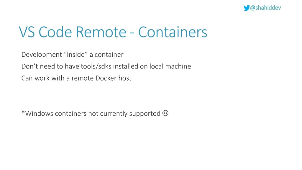 @shahiddev VS Code Remote - Containers Developm...
