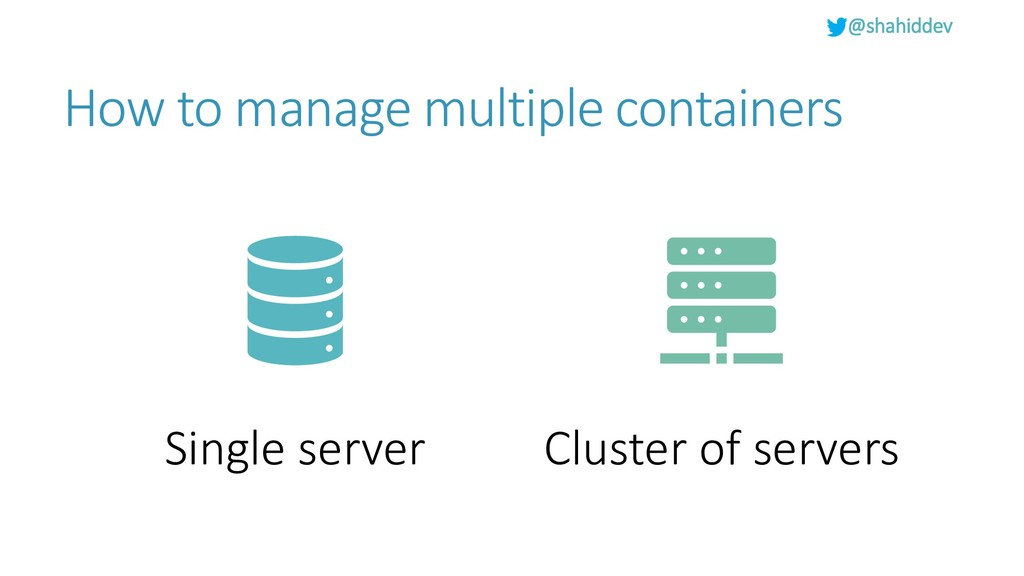 @shahiddev How to manage multiple containers Si...
