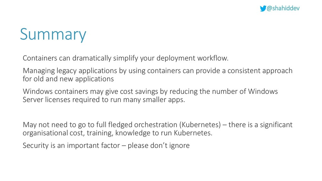 @shahiddev Summary Containers can dramatically ...