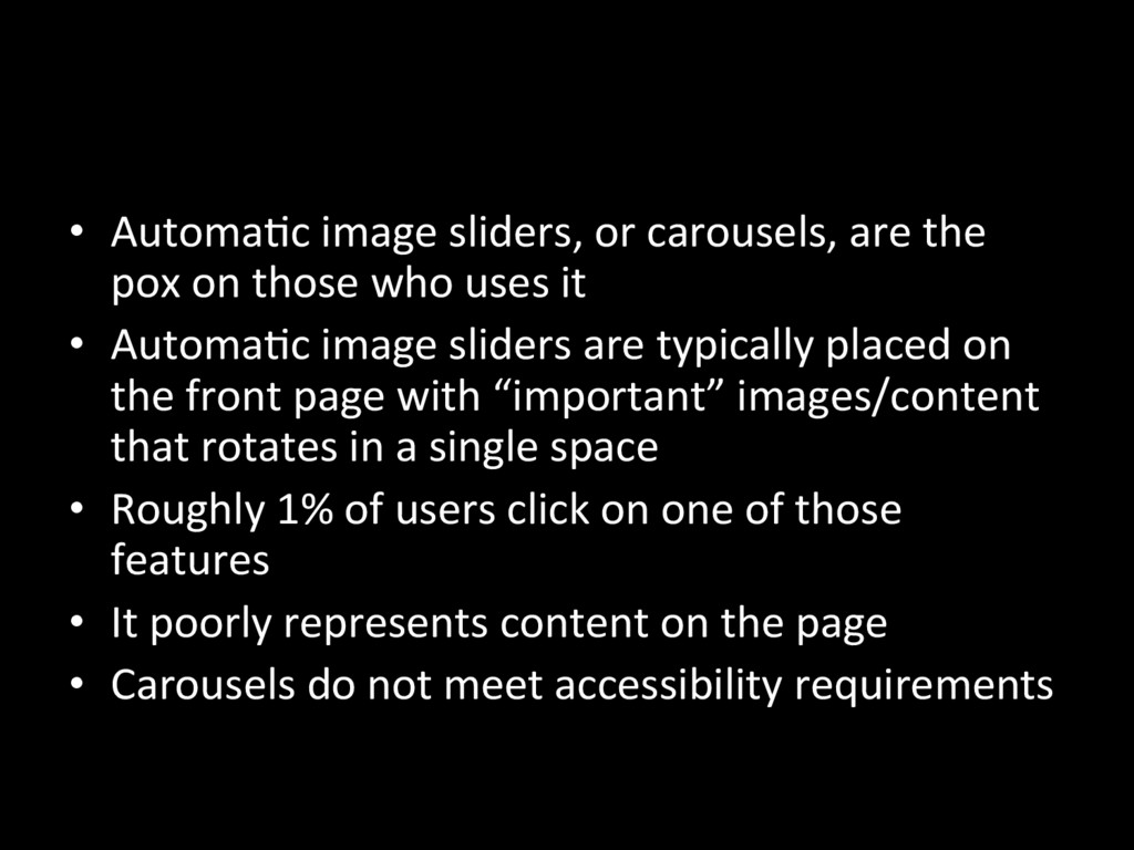 •  AutomaNc image sliders, or carousels, are th...