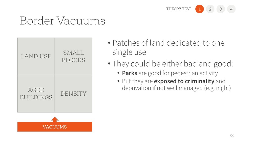 Border Vacuums • Patches of land dedicated to o...