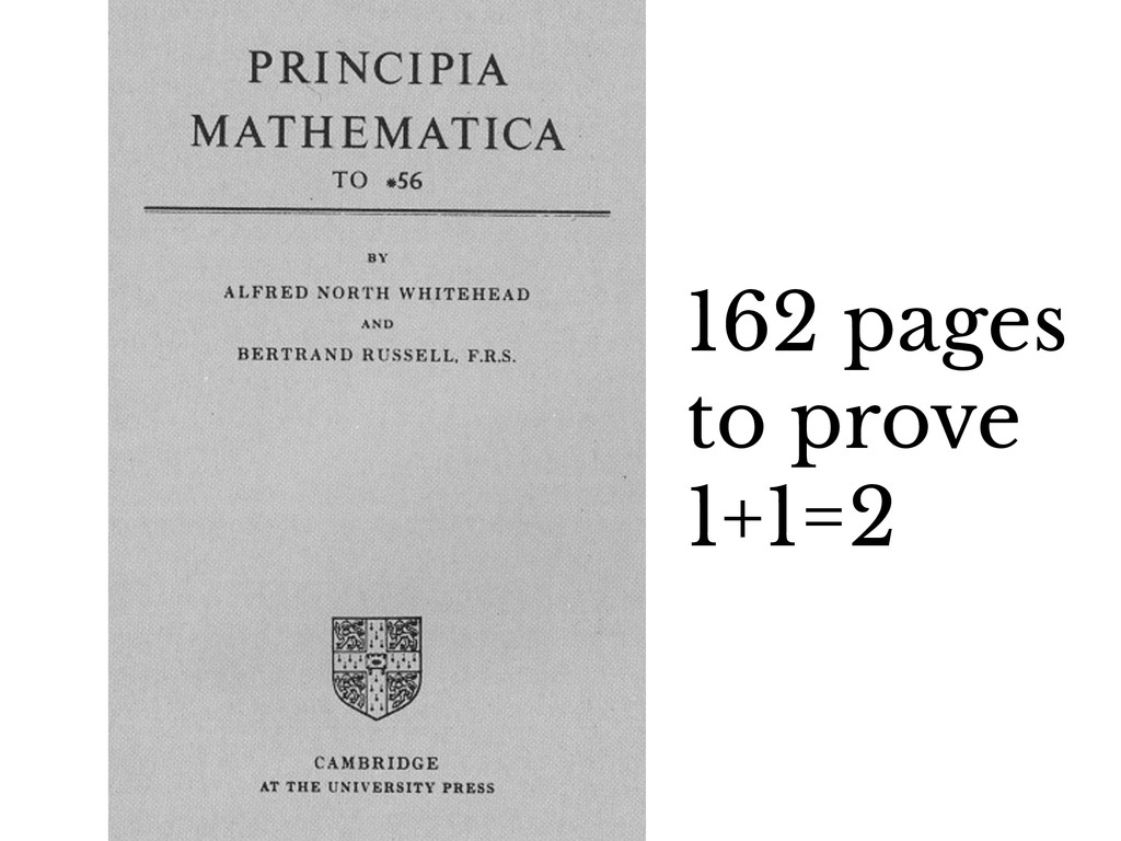 162 pages to prove 1+1=2