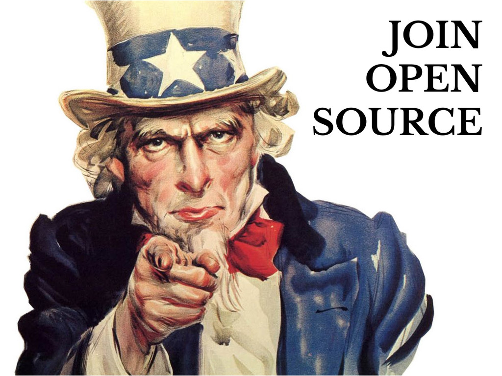 JOIN OPEN SOURCE