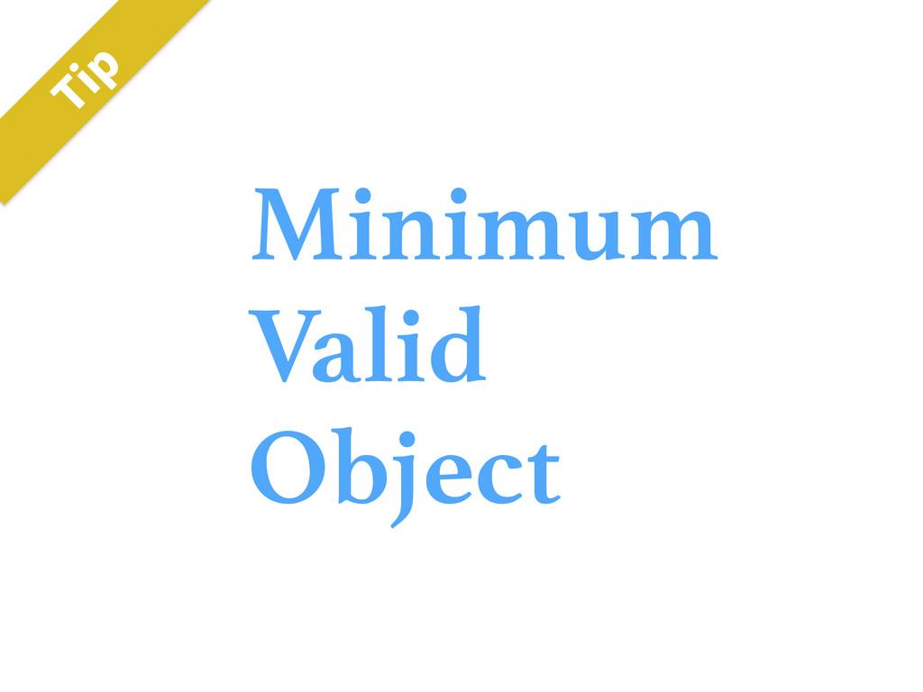 Minimum Valid Object 5JQ