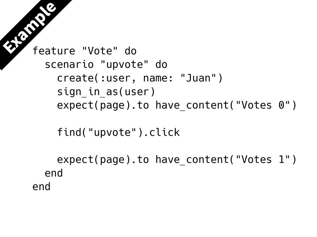 """&YBN QMF feature """"Vote"""" do scenario """"upvote"""" do..."""