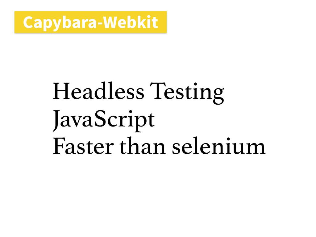 $BQZCBSB8FCLJU Headless Testing JavaScript Fas...