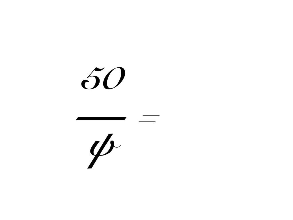 50 — ψ =