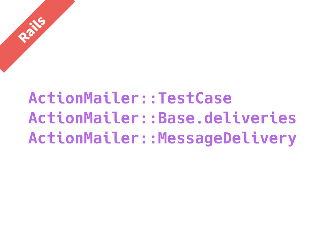 ActionMailer::TestCase ActionMailer::Base.deliv...