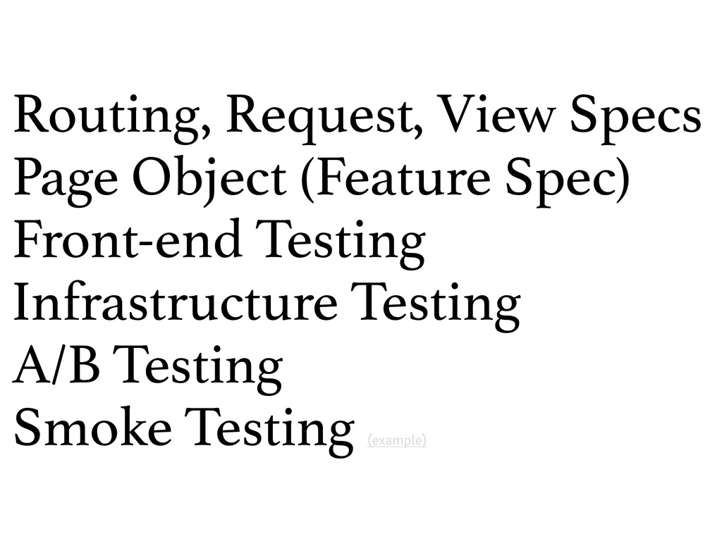 Routing, Request, View Specs Page Object (Featu...