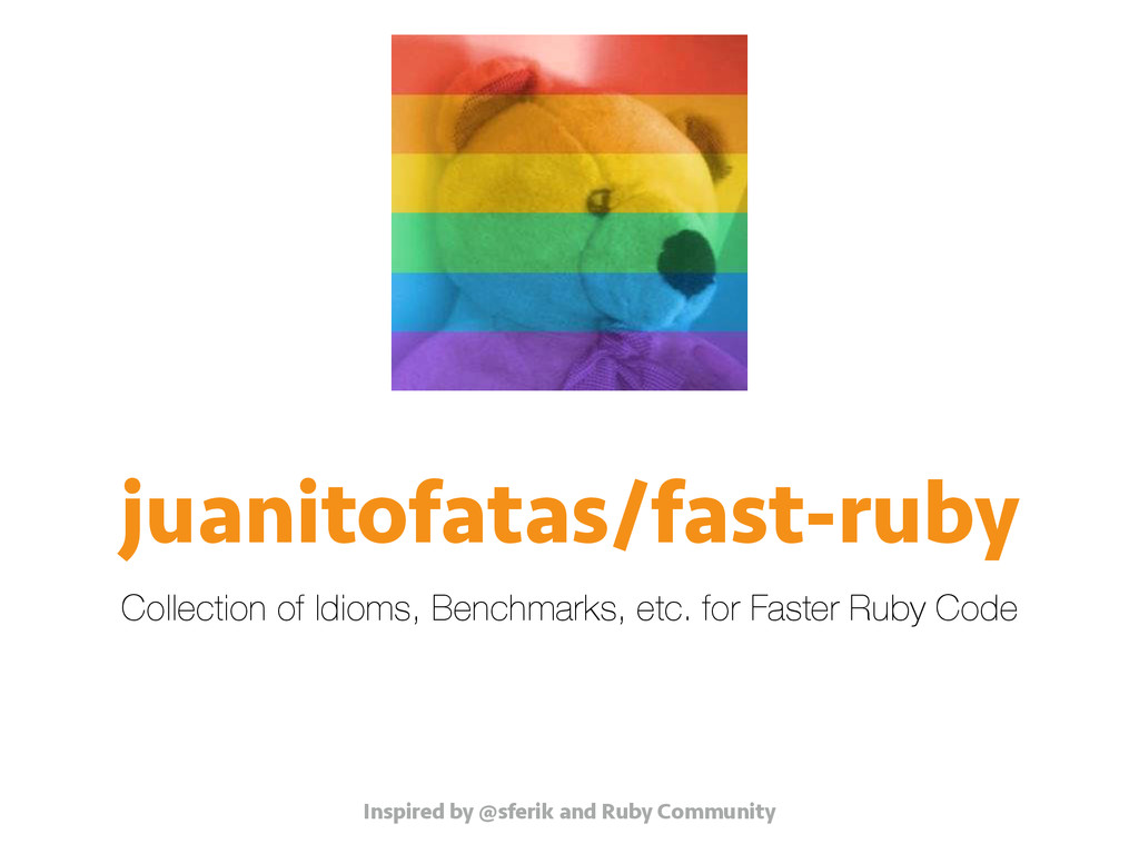 juanitofatas/fast-ruby Collection of Idioms, Be...