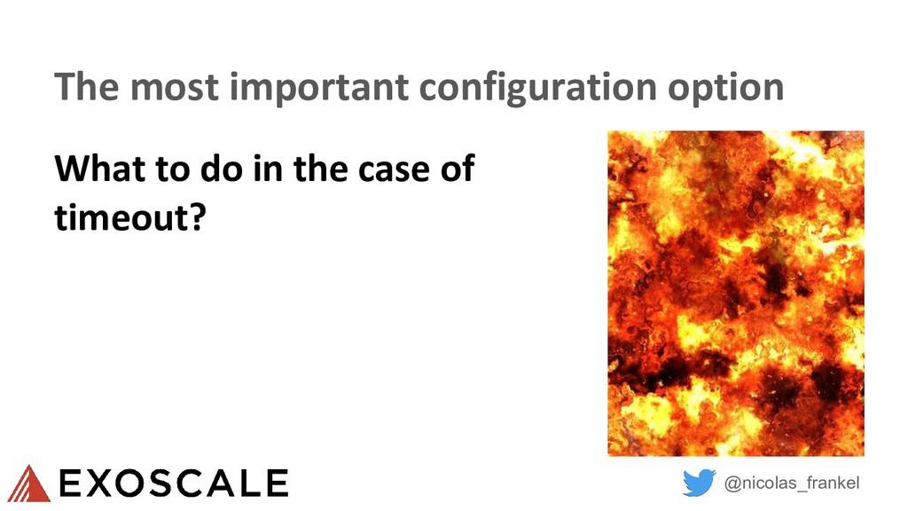 @nicolas_frankel The most important configurati...
