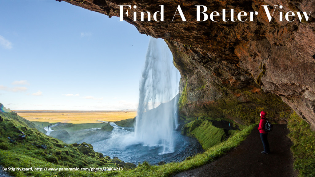 Find A Better View By Stig Nygaard, http://www....