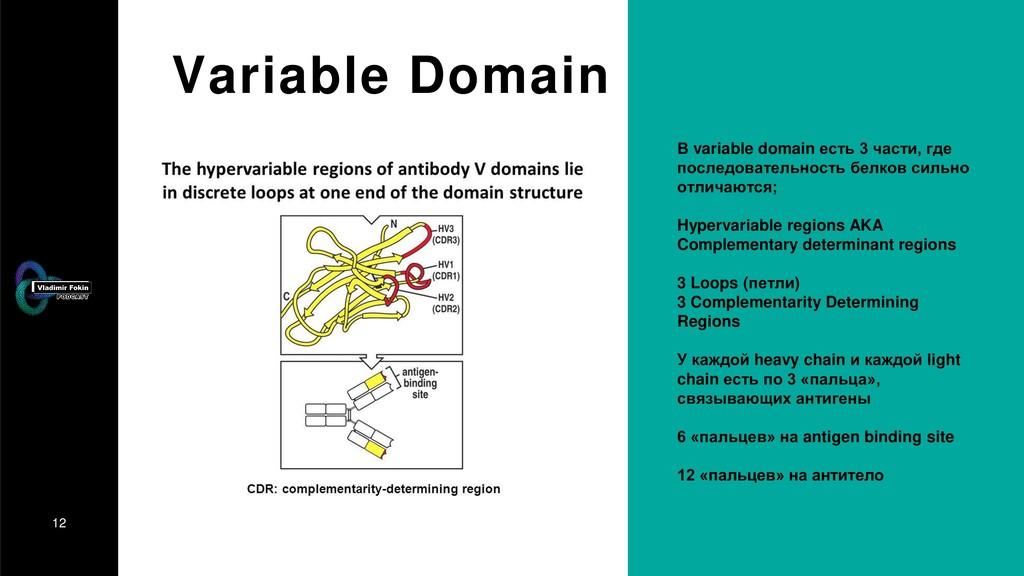 12 Variable Domain В variable domain есть 3 час...