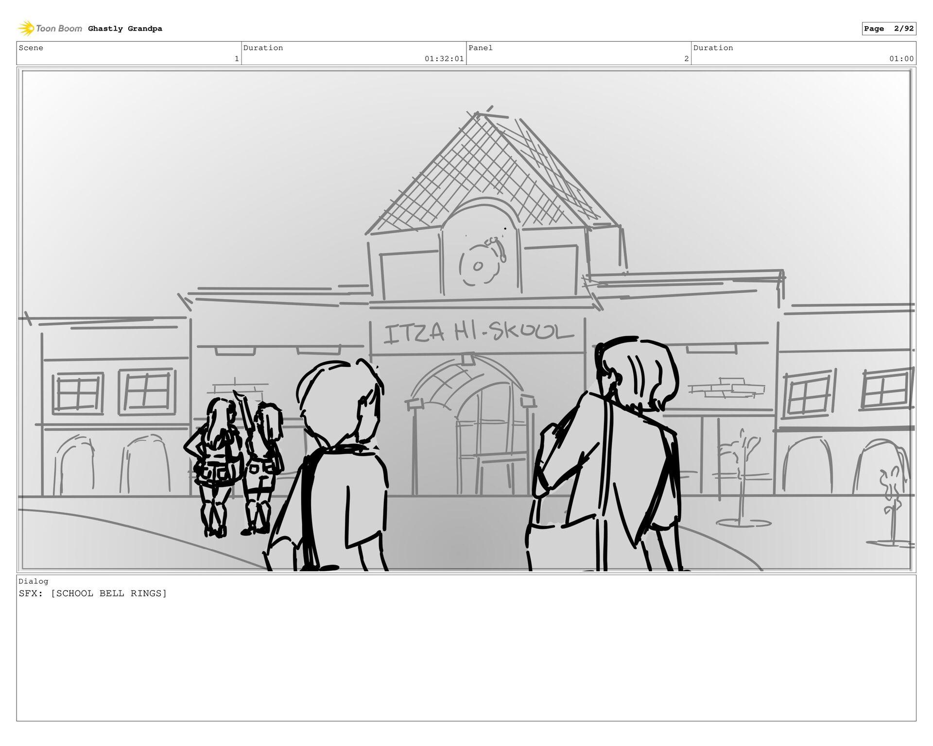 Scene 1 Duration 01:27:01 Panel 1 Duration 01:0...