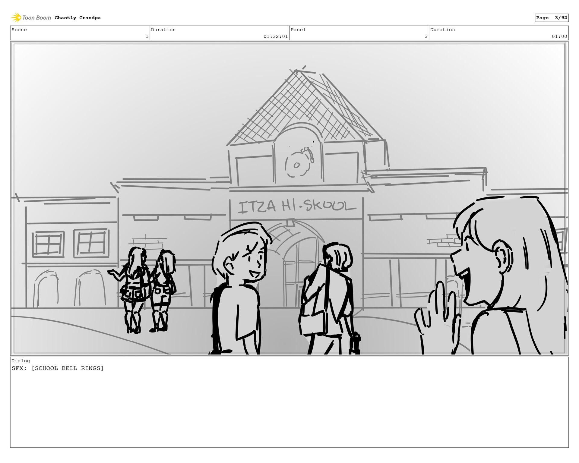 Scene 1 Duration 01:27:01 Panel 2 Duration 01:0...