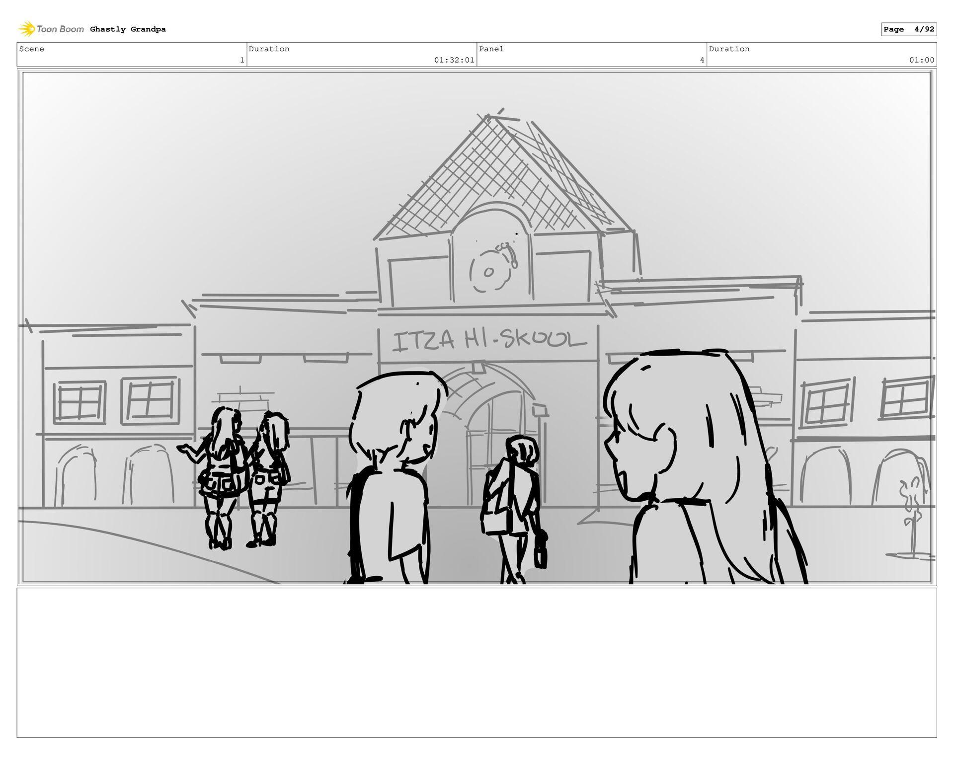 Scene 1 Duration 01:27:01 Panel 3 Duration 01:0...