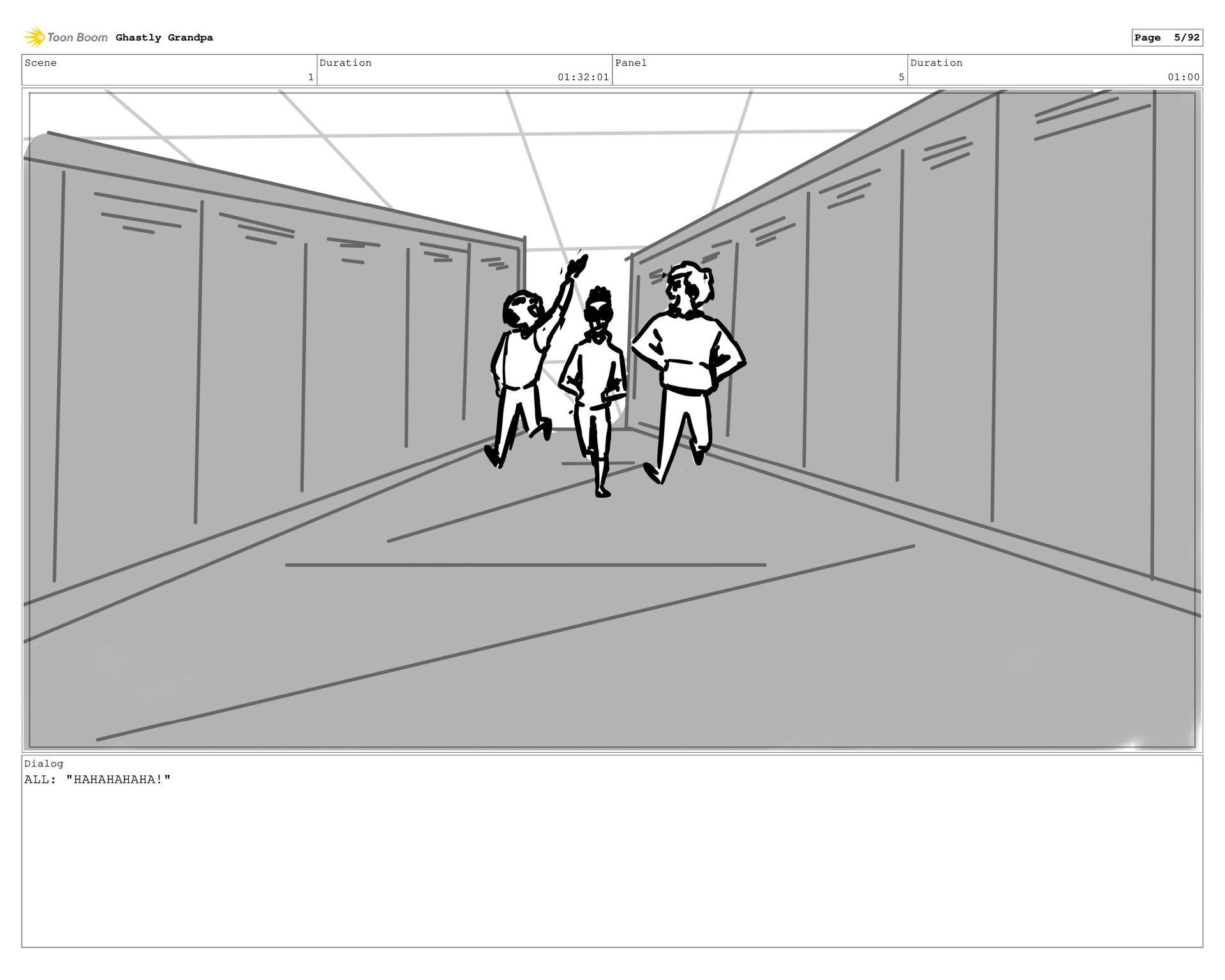 Scene 1 Duration 01:27:01 Panel 4 Duration 01:0...