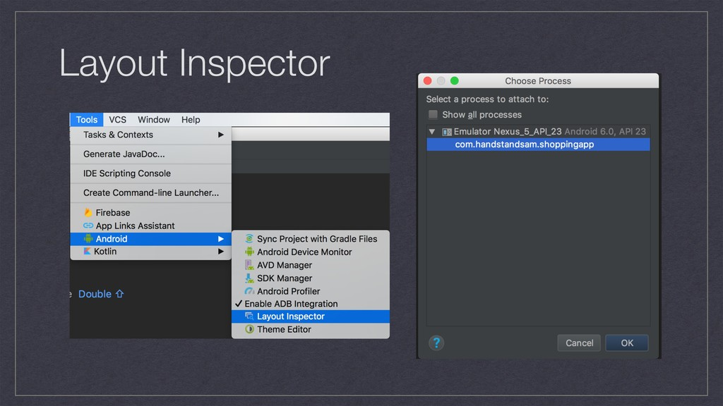 Layout Inspector